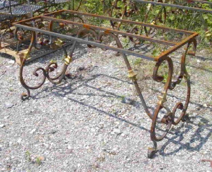 Basi In Ferro Per Tavoli Da Giardino.Il Rame Srl